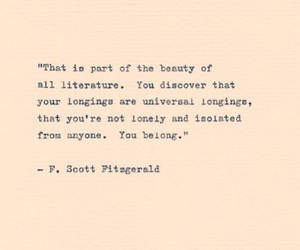 art, books, and fitzgerald image