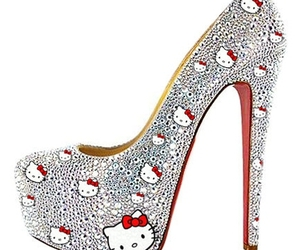 HelloKitty, shoes, and cute image
