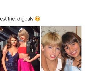 selena gomez, funny, and Taylor Swift image