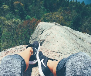 fashion, nature, and nike image