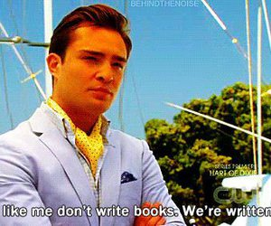 chuck bass, gossip girl, and quote image