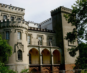 architecture, castle, and photography image