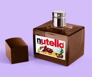 nutella, perfume, and chocolate image