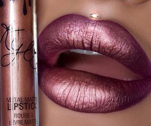 beauty, lip, and lipgloss image
