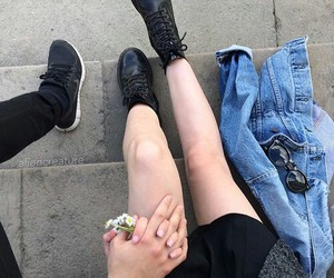couple, grunge, and pale image