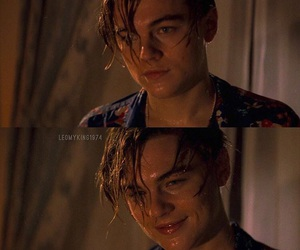 leonardo dicaprio, romeo and juliet, and smile image