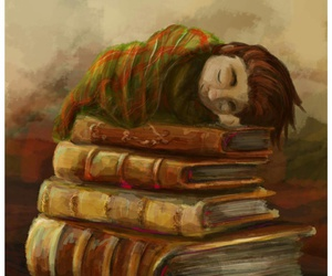 addiction, knowledge, and book love image