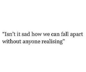 sad, quotes, and tumblr image