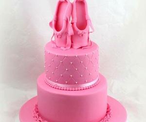 baby pink, birthday, and cake image