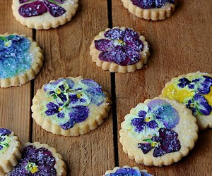 Cookies, delicate, and flowers image