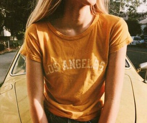 yellow, aesthetic, and vintage image