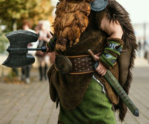 cool, father, and cosplay image