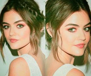 hair, lucy hale, and pretty little liars image