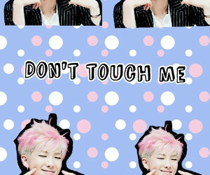 jin, rap monster, and don't touch me image