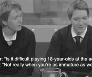 harry potter, weasley, and james phelps image
