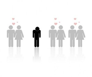 couple, loneliness, and forever alone image