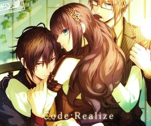 anime, reverse harem, and code:realize image