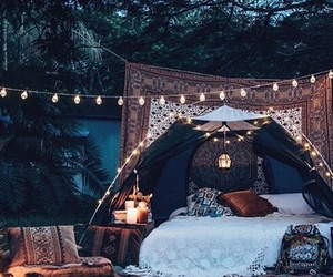 light, bed, and tumblr image