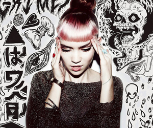 grimes, music, and grunge image