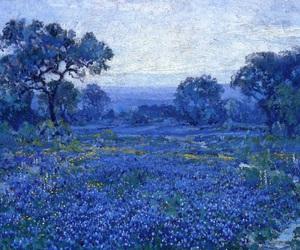 art, blue, and julian onderdonk image