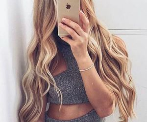blond, vs, and waves image