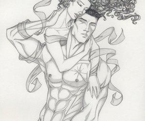 art, draw, and black dagger brotherhood image