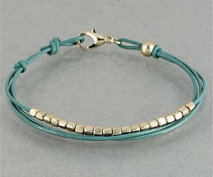 bracelet, green, and cute image