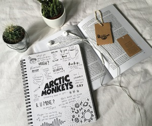 arctic monkeys, art, and book image