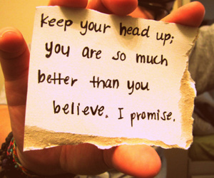 quote, believe, and text image