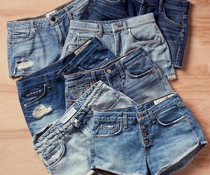 blog, denim, and shorts image