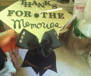 black and gold, graduation cap, and graduation image