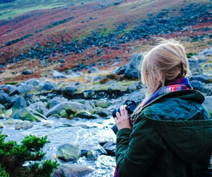 girl, photography, and ireland image