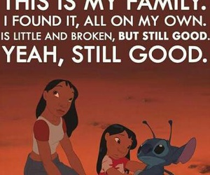 family, stitch, and disney image