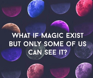 magic, quote, and moon image