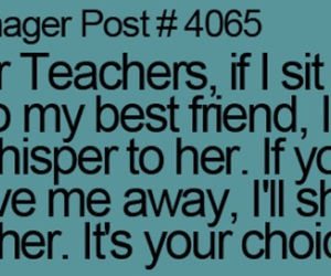 choice, teenager post, and friends image