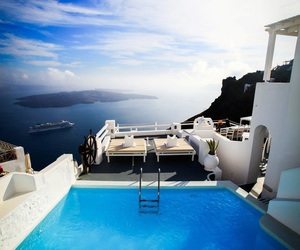 pool, summer, and paradise image
