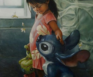 disney, belleza, and lilo y stich image