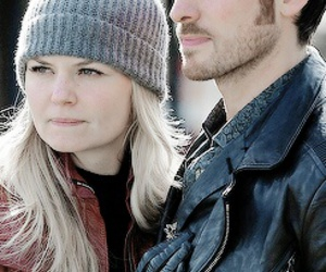 emma swan, captain hook, and captain swan image
