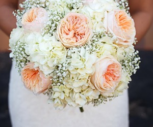 bouquet, flowers, and hydrangeas image