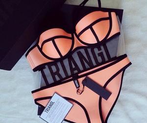 fashion, triangl, and bikini image