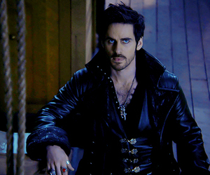 captain hook, colin o'donoghue, and killian jones image