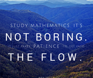 inspiring, maths, and quote image