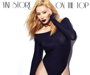 blond, on the top, and iggy azalea image