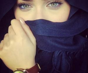 beauty, green eyes, and iraqia image
