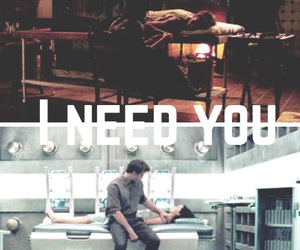i need you, the hunger games, and katniss image