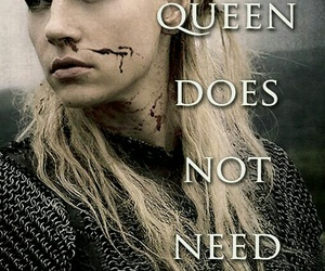 Queen, quote, and vikings image