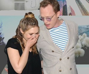 Collage, elizabeth olsen, and paul bettany image