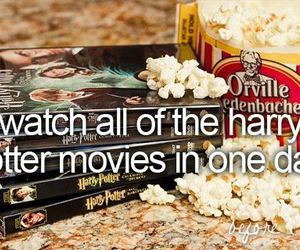 harry potter, movies, and before i die image