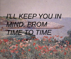quote, flowers, and grunge image