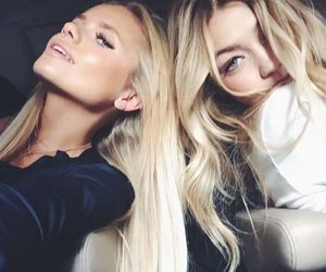 girl, gigi hadid, and blonde image